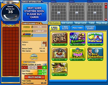 bingo cabin online bingo games