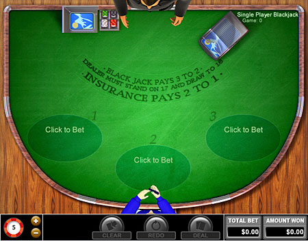 bingo cabin single player blackjack online casino game
