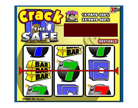 bingo cabin crack the safe 3 reel online slots game