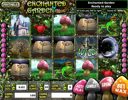 Enchanted Garden™ Slot Machine Game to Play Free in Realtime Gamings Online Casinos